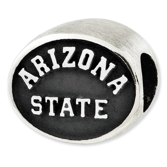 Sterling Silver Arizona State University Bead