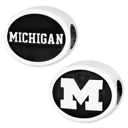 Michigan Wolverines Bead