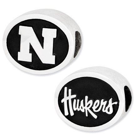 University of Nebraska Cornhuskers Bead