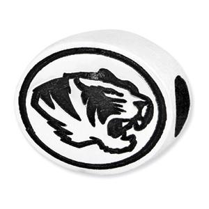 University of Missouri Tigers Bead