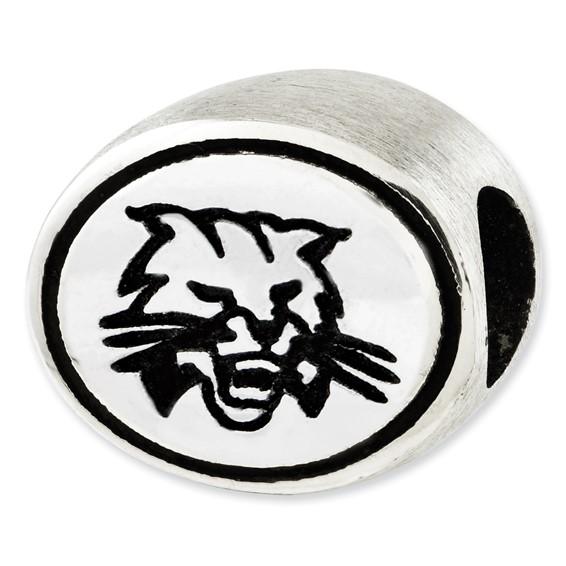 Sterling Silver Ohio University Bead