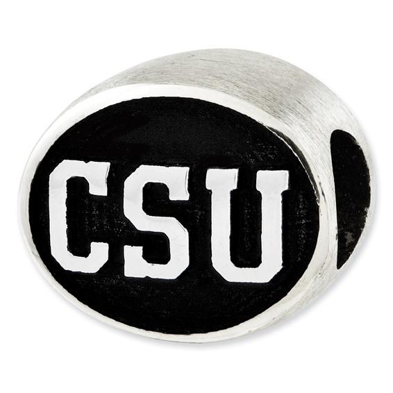 Sterling Silver Colorado State University Rams Bead