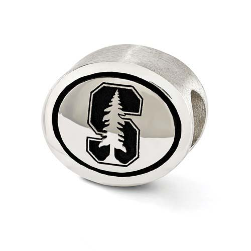 Sterling Silver Stanford University Bead