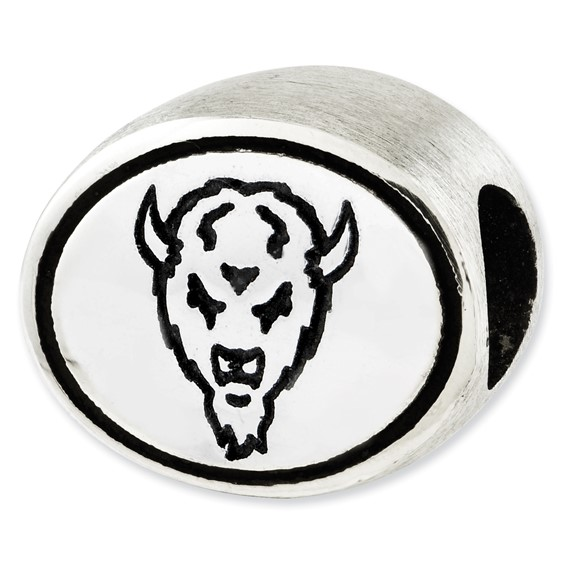 Sterling Silver Marshall Thundering Herd Bead
