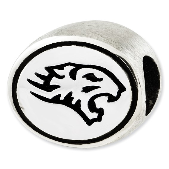 Sterling Silver Towson University Bead