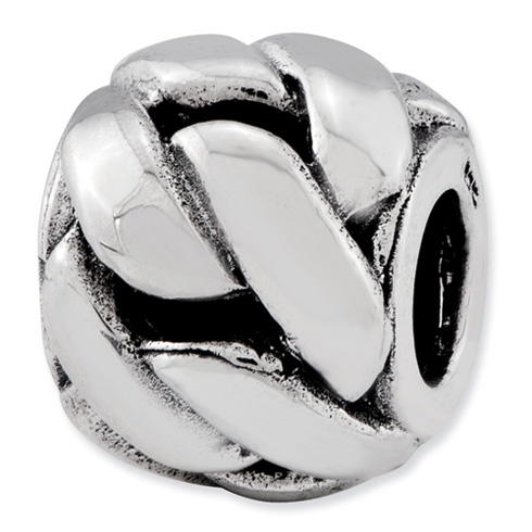 Sterling Silver Reflections Twisted Bali Bead