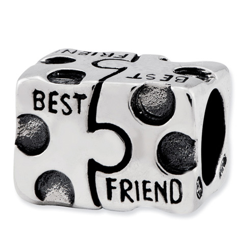 Sterling Silver Reflections Best Friend Bead