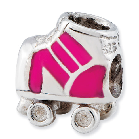 Sterling Silver Reflections Kids Rollerskate Bead