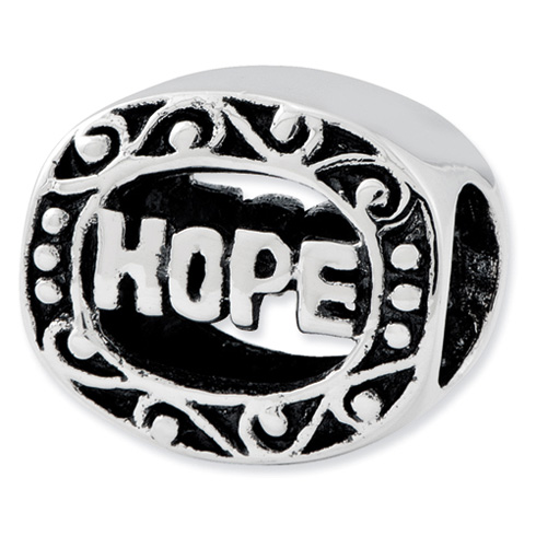 Sterling Silver Reflections Hope Bead