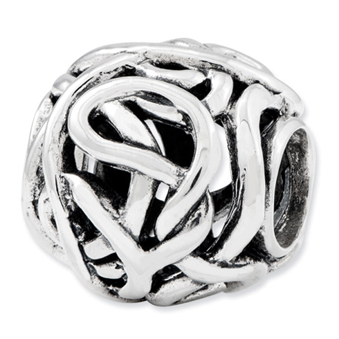 Sterling Silver Reflections Tangled Bali Bead