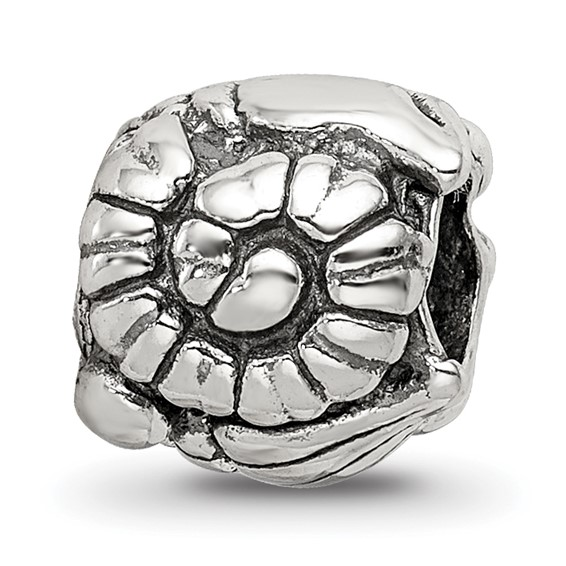Sterling Silver Reflections Shells Bead