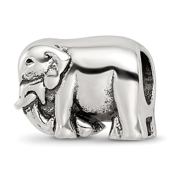 Sterling Silver Reflections Elephant Bead