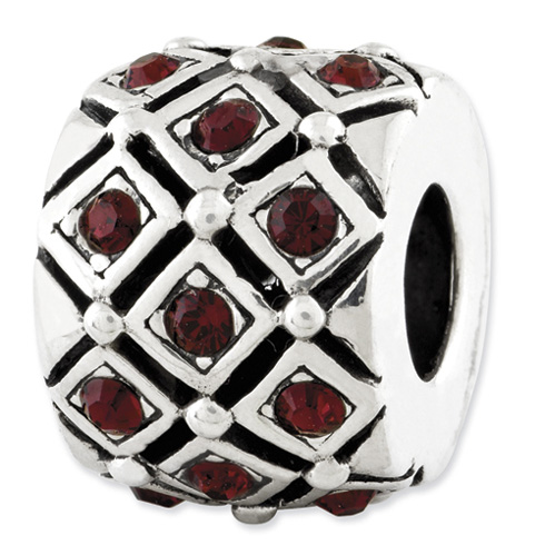Sterling Silver Reflections June Swarovski Elements Bead