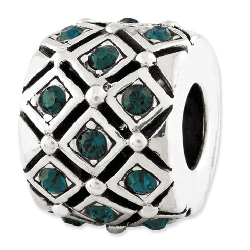 Sterling Silver Reflections May Swarovski Elements Bead