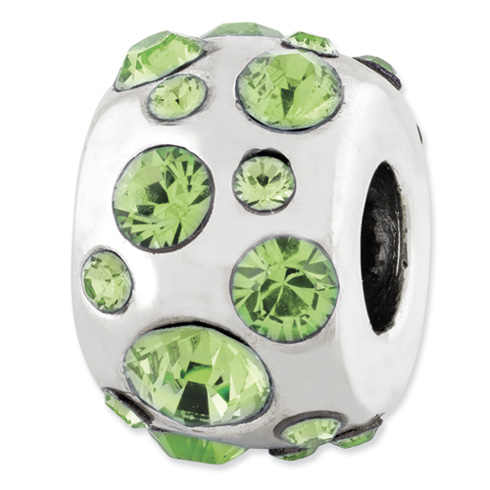 Sterling Silver Reflections August Swarovski Elements Bead