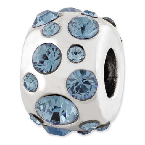 Sterling Silver Reflections December Swarovski Elements Bead