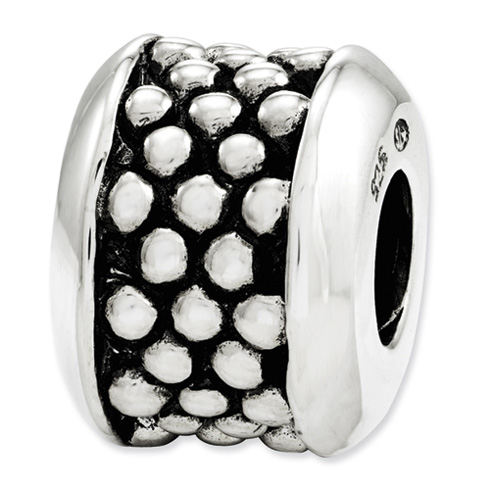 Sterling Silver Reflections Dots Bead