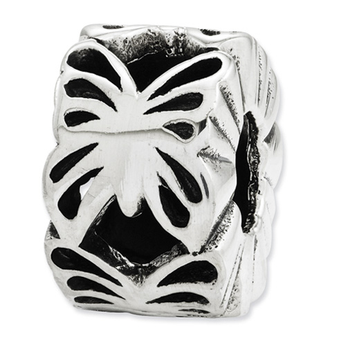 Sterling Silver Reflections Cut Out Butterfly Bead