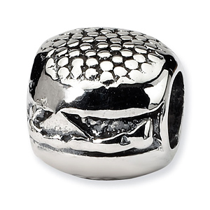 Sterling Silver Reflections Hamburger Bead