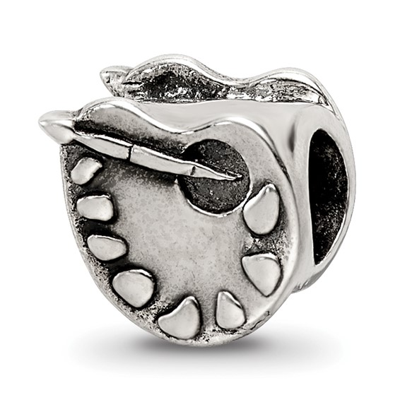 Sterling Silver Reflections Artists Palette Bead