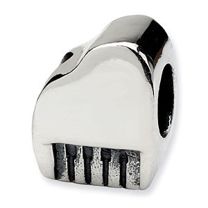 Sterling Silver Reflections Piano Bead