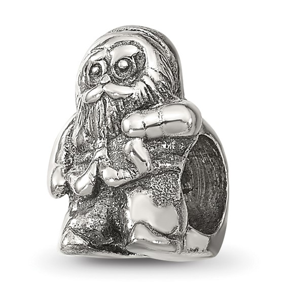 Sterling Silver Reflections Santa Claus Bead