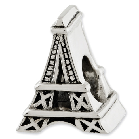 Sterling Silver Reflections Eiffel Tower Bead