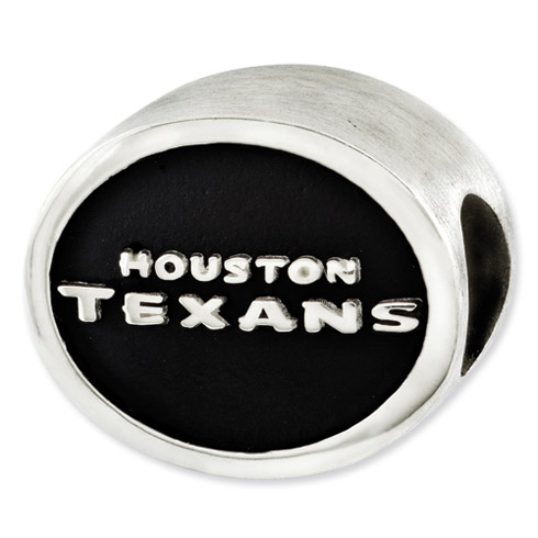 Sterling Silver Houston Texans Bead