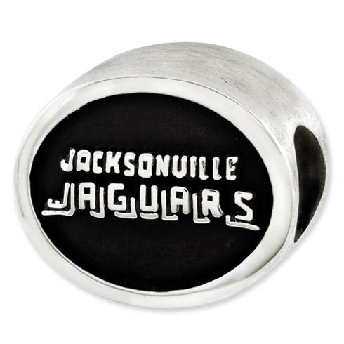Sterling Silver Jacksonville Jaguars Bead