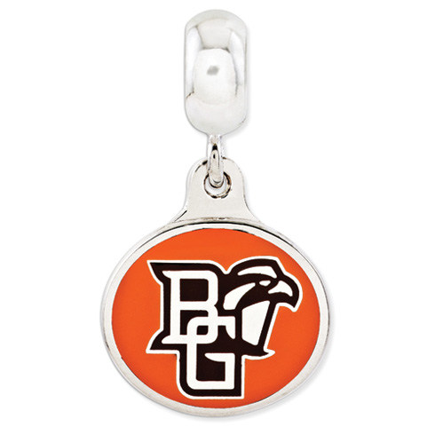 Bowling Green University Dangle Bead