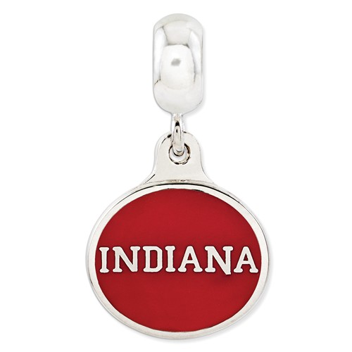 Indiana University Dangle Bead