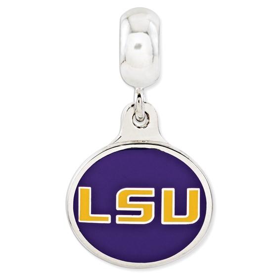Louisiana State University Dangle Bead