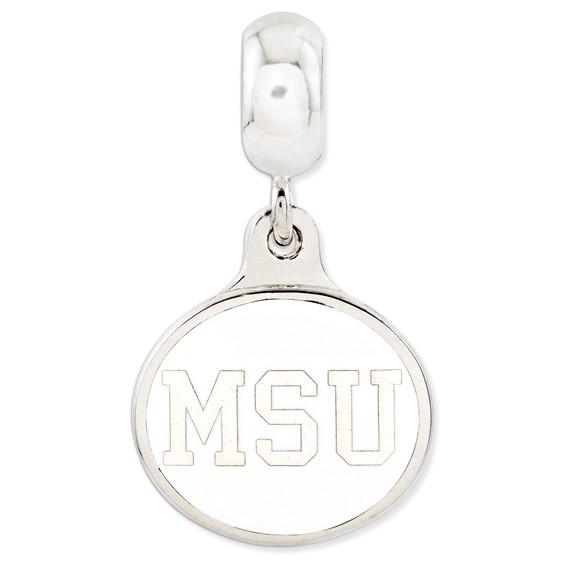 Michigan State University Dangle Bead