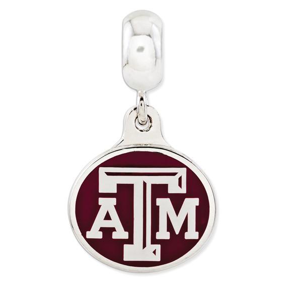 Texas A&M University Dangle Bead