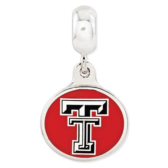 Texas Tech University Dangle Bead
