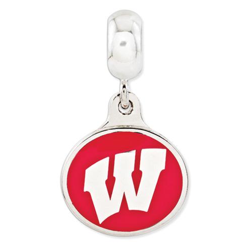 University of Wisconsin Dangle Bead