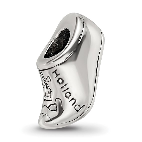 Sterling Silver Reflections Holland Shoe Bead