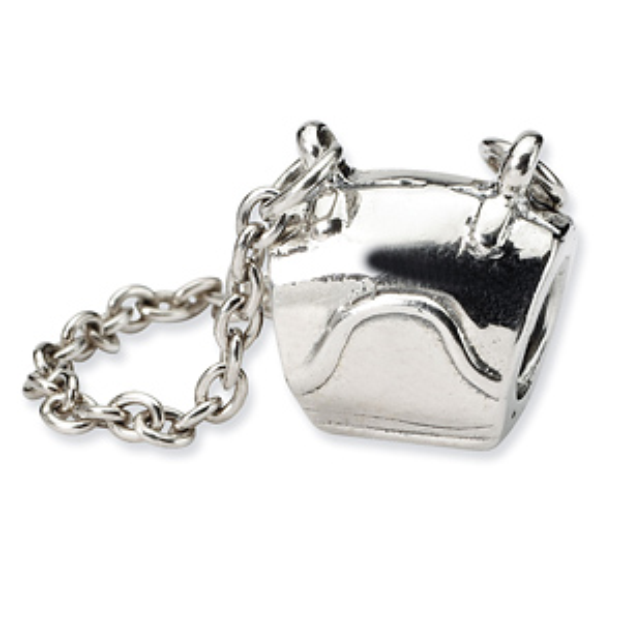 Sterling Silver Reflections Handbag Bead