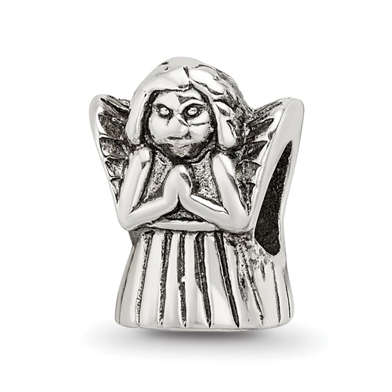 Sterling Silver Reflections Praying Angel Bead