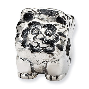 Sterling Silver Reflections Kids Lion Clip Bead