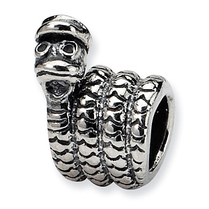 Sterling Silver Reflections Kids Snake Bead