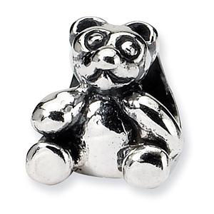 Sterling Silver Reflections Kids Bear Bead