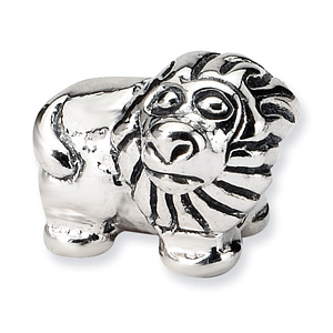 Sterling Silver Reflections Kids Lion Bead
