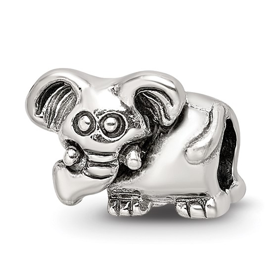 Sterling Silver Reflections Kids Elephant Bead