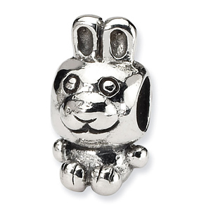 Sterling Silver Reflections Kids Bunny Bead