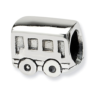 Sterling Silver Reflections Kids Trolley Bead
