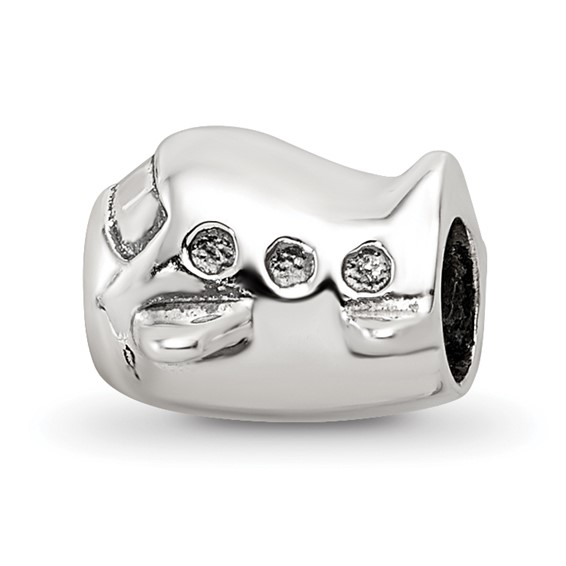 Sterling Silver Reflections Kids Airplane Bead