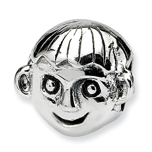 Sterling Silver Reflections Kids Little Kid Bead