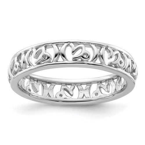 Sterling Silver Stackable Expressions Capricorn Zodiac Ring