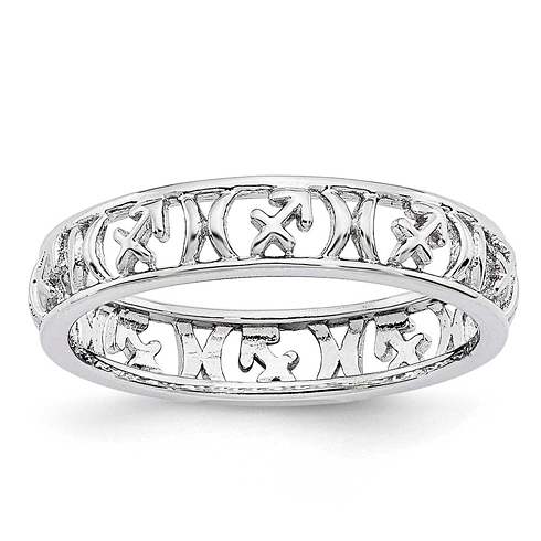 Sterling Silver Stackable Expressions Sagittarius Zodiac Ring